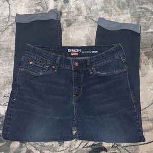 DENIZEN from LEVI'S modern crop jeans 6